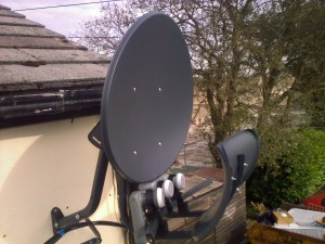 outdoor satellite