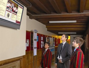 audio visual solutions in schools