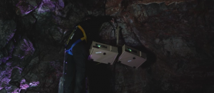 cave system outdoor projector enclosures