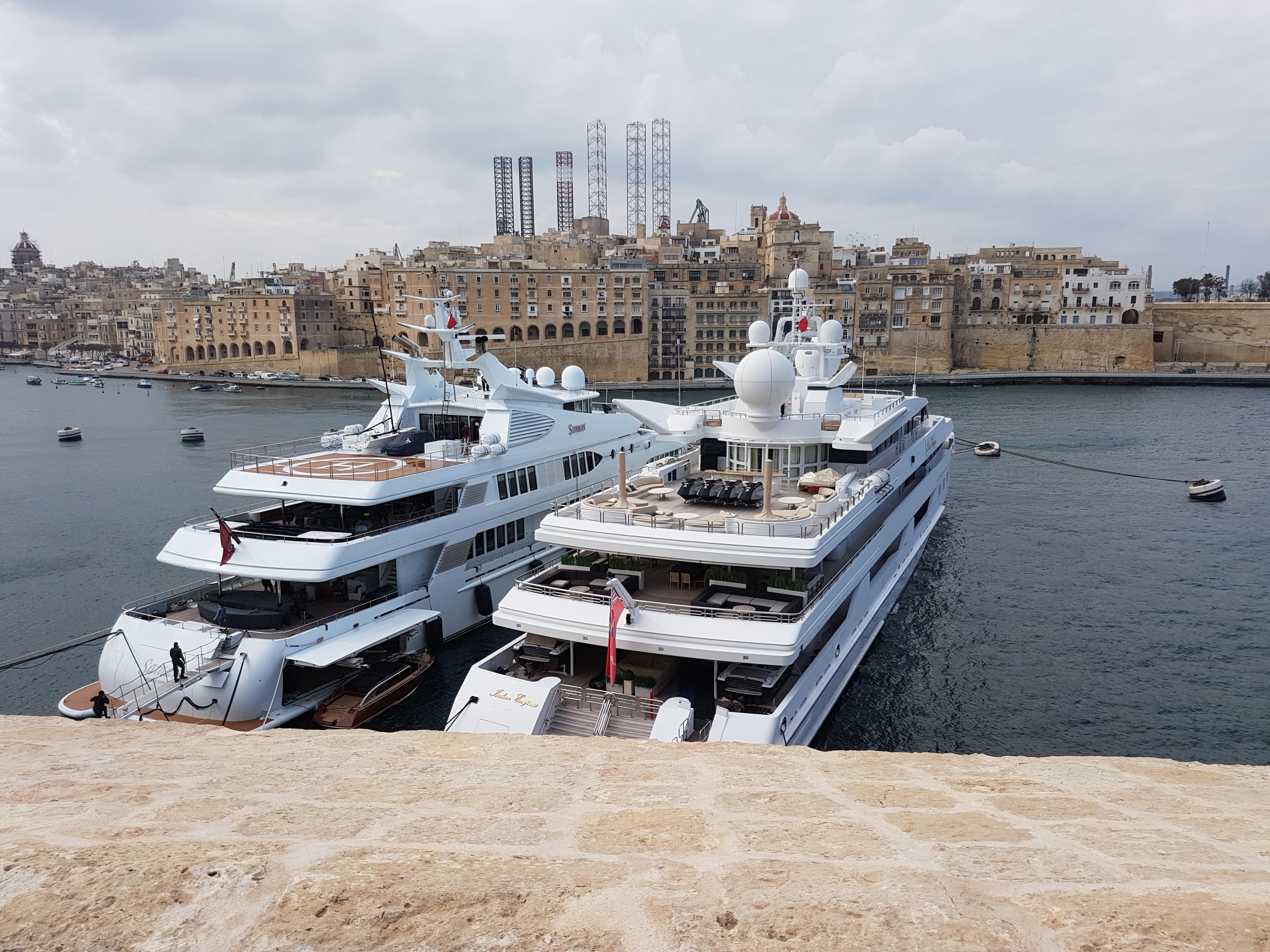 super yachts outdoor projector enclosure