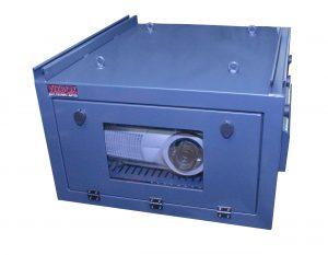 VIZBOX projector enclosures outdoors medium stock
