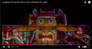 Longleat video mapping LCI